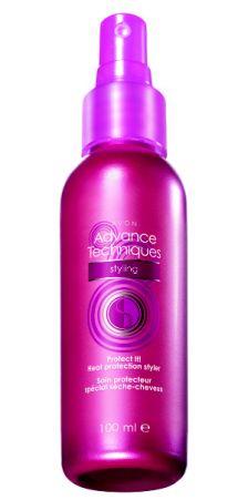 Sprej pro ochranu vlasů při fénování_TZ