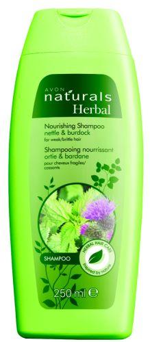 Vyživující šampon s kopřivou a lopuchem_TZ