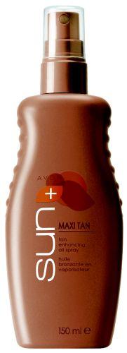 Olej pro zvýraznění opálení ve spreji Maxi Tan