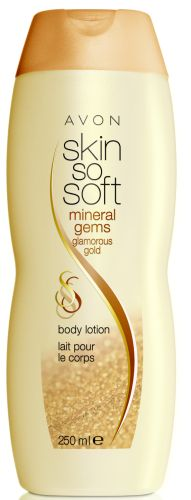 Skin So Soft Mineral Gems Glamorous Gold - Body Lotion