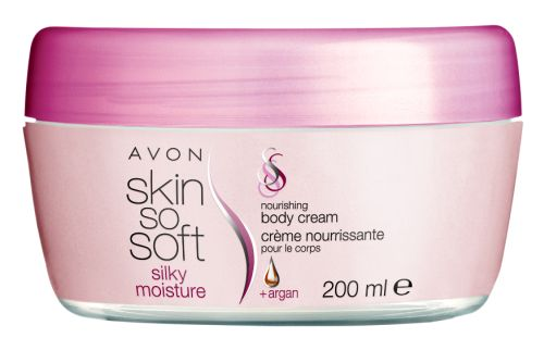 Skin So Soft Silky Moisture - Nourishing Body Cream + Argan