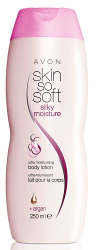 Skin So Soft Silky Moisture - Ultra Moisturising Body Lotion + Argan