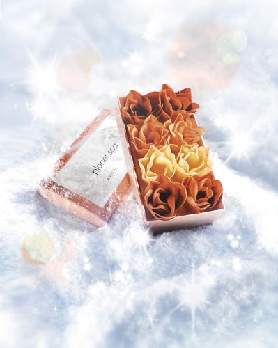 Mýdlové okvětní lístky do koupele z tureckých lázní Hammam_Planet Spa