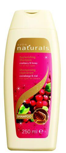 Vyživující šampon s brusinkou a medem pro všechny typy vlasů