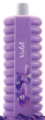 Pěna do koupele s vůní fialky
