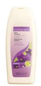 Hydratační šampon s divokou fialkou a vinným semínkem pro vlasy bez lesku