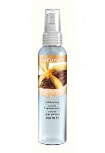 Hydratační tělový sprej s vanilkou