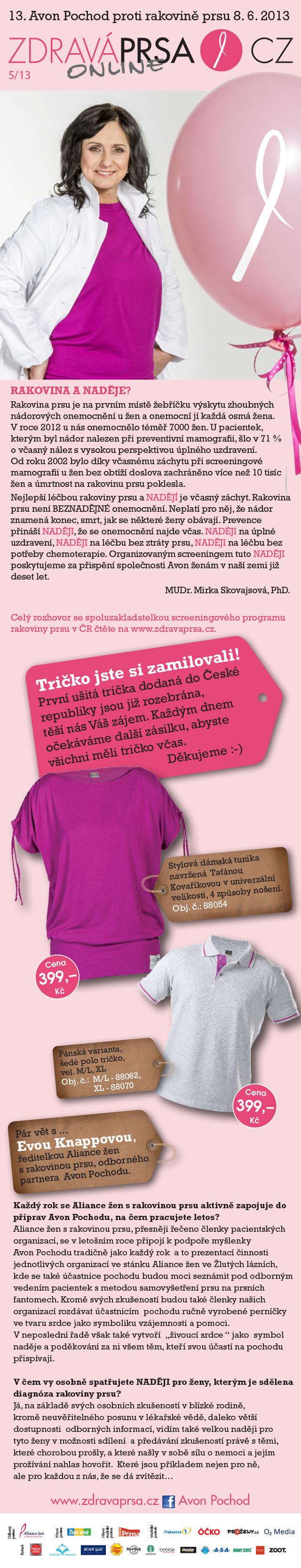 Zdrava prsa.cz ONLINE 5.2013