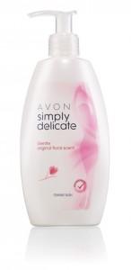 Dámský sprchový gel pro intimní hygienu s vůní květin