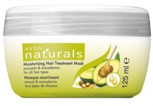 Hydratační maska s makadamovým olejem a avokádem pro všechny typy vlasů