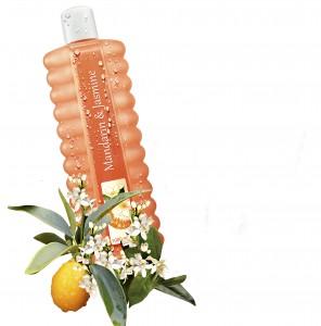 Pěna do koupele s vůní mandarinky a jasmínu