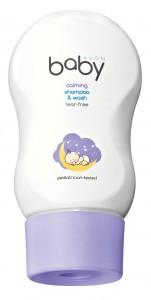 Zklidňující dětský sprchový gel na tělo a vlasy