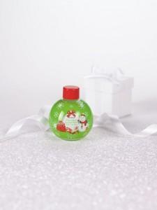 Vánoční pěna do koupele s vůní zeleného jablka