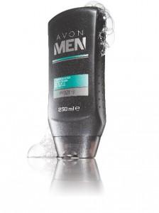 Povzbuzující sprchový gel na tělo a vlasy