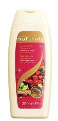 Vyživující šampon a kondicionér 2 v 1 s brusinkou a medem