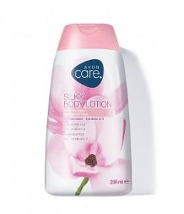 Hydratační tělové mléko s růžovou magnolií a vitaminem E