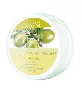 Vyživující pleťový krém s výtažky z oliv
