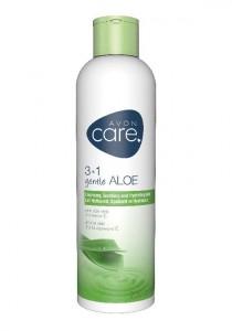 Zklidňující čistíci hydratační pleťové mléko 3 v 1 s aloe vera s vitaminem E